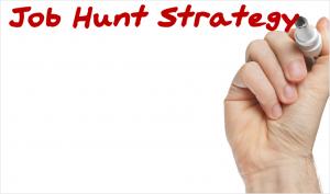 Job Hunt Strategy Whiteboard